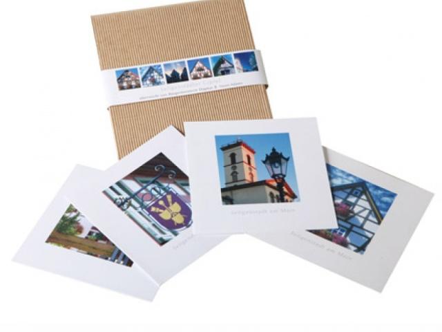 Einzelkarte mit Umschlag