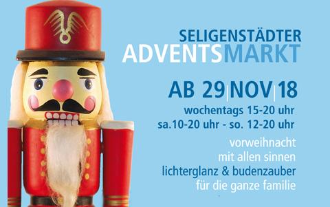 Weihnachtsmarkt <br />in Seligenstadt<br />29.11.-16.12.2018
