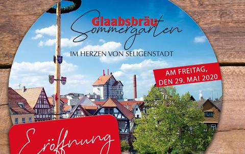 Eröffnung<br />Glaabsbräu Sommergarten <br />29.05.2020