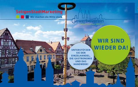 Gewerbeverein Seligenstadt<br />Aktion des Einzelhandels