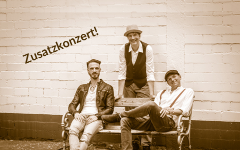 BLUESTACKS<br />Zusatzkonzert<br />22. August 2020