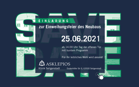 Asklepios Klinik <br />Einweihung Neubau<br />25.06.2021