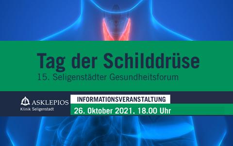 Tag Der Schilddrüse<br />Infoveranstaltung<br />26.10.2021