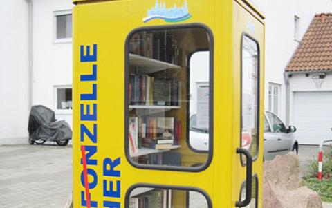 Bücherzellen in Seligenstadt