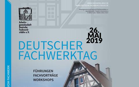 Deutscher Fachwerktag<br />26.05.2019