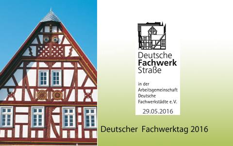 Deutscher Fachwerktag am 29.05.2016