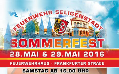 Seligenstädter Feuerwehr<br/>Sommerfest