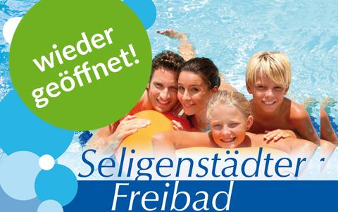 Seligenstädter Freibad<br />geöffnet!