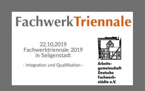 Seligenstädter Fachwerk Triennale<br />22.10.2019