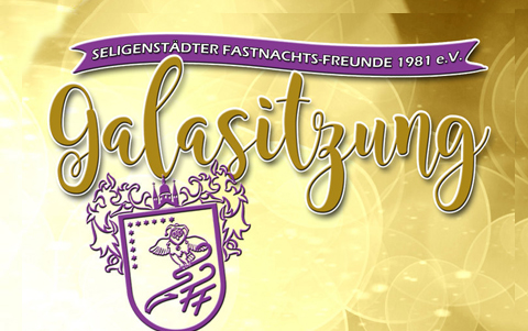 Galasitzung<br />Fastnachtsfreunde<br />15.&16.02.2020