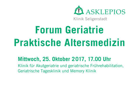 Forum Geriatrie<br />25. Oktober 2017