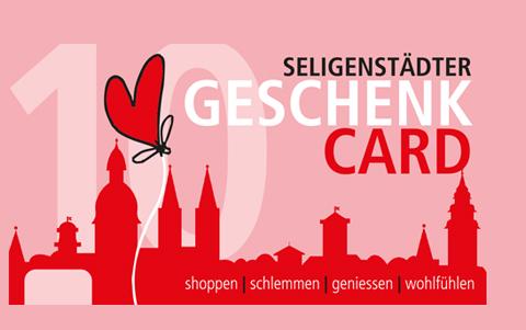 Seligenstädter<br />Gutscheincard