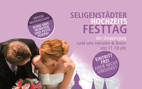 Seligenstädter HochzeitsFEST-Tag <br />20.10.2019