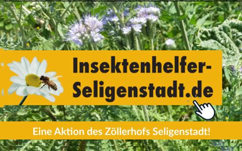 Zöllerhof Seligenstadt:<br />Werden Sie <br />Insektenhelfer!