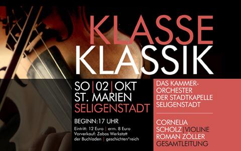 Kammer-Orchester<br />der Stadtkapelle Seligenstadt