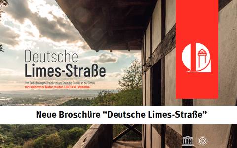 Deutsche Limes-Straße<br />neue <br />Broschüre