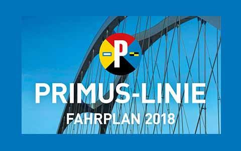 Primus-Linie<br />Fahrplan 2018