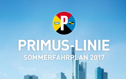 Sommerfahrplan<br />der <br />Primus Linie