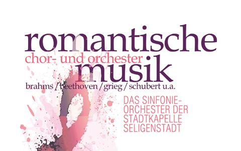 Romantische Chor- und<br />Orchestermusik am 18.05.2019