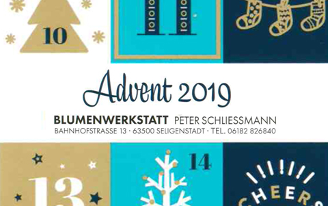 Advent in der <br />Blumenwerkstatt