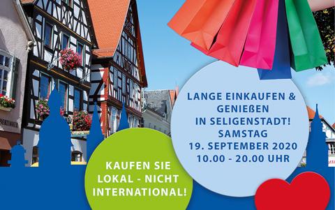 Lange Einkaufen<br />in Seligenstadt<br />19.09.2020