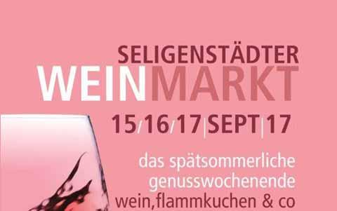 Seligenstädter Weinmarkt<br />15. - 17.09.2017