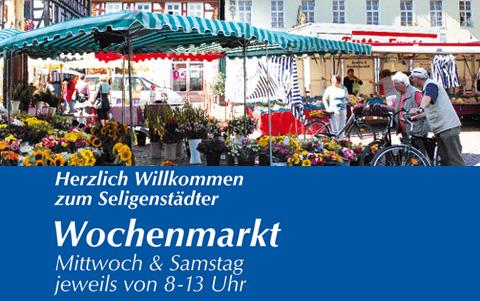 Seligenstädter Wochenmarkt